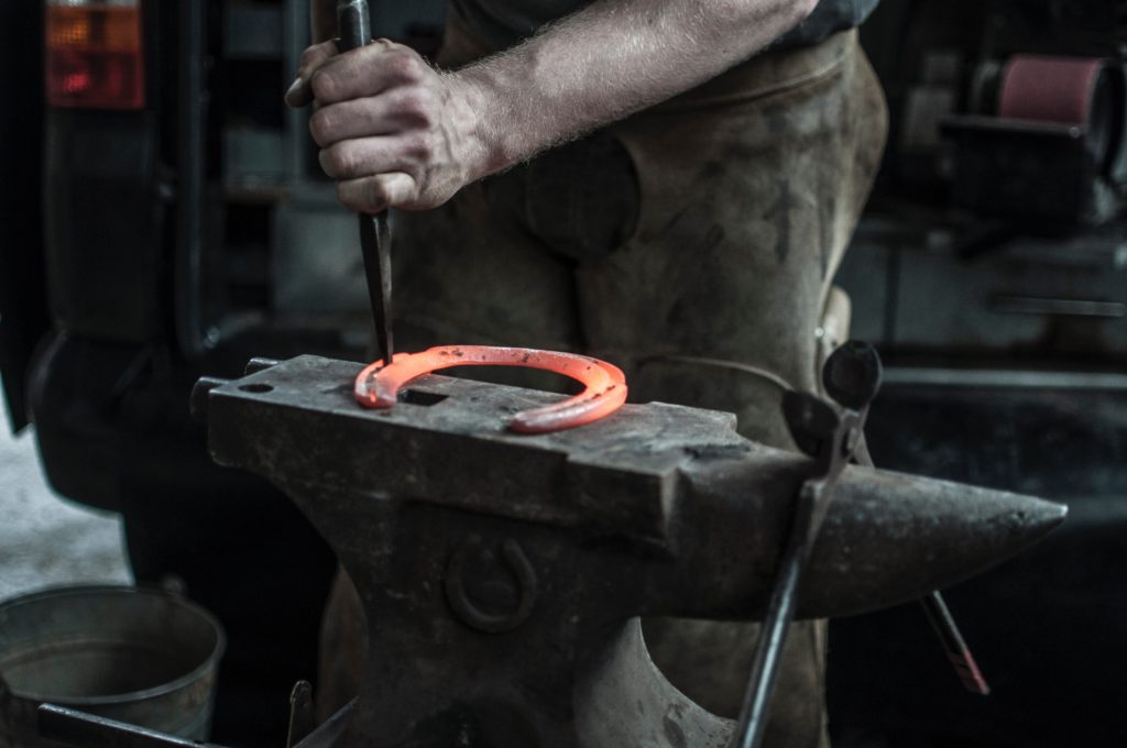 Blacksmithing Horseshoe
